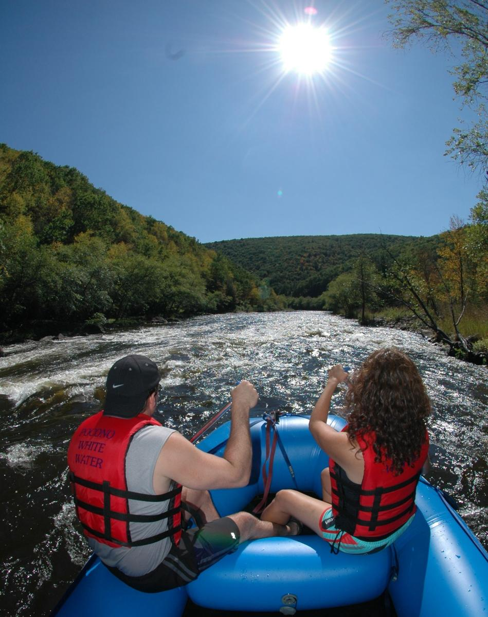 Couples Whitewater Rafting
