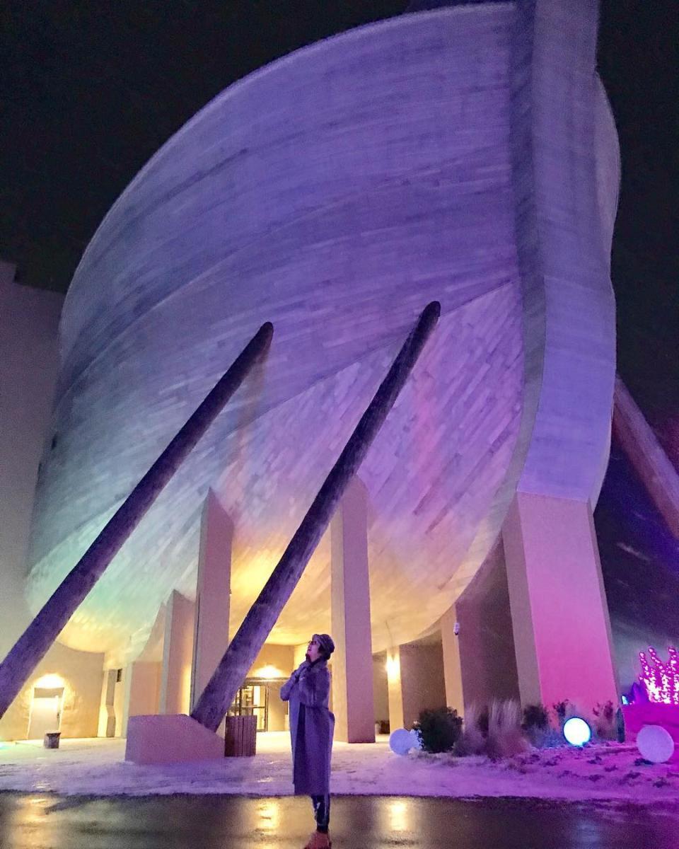 ark encounter lights