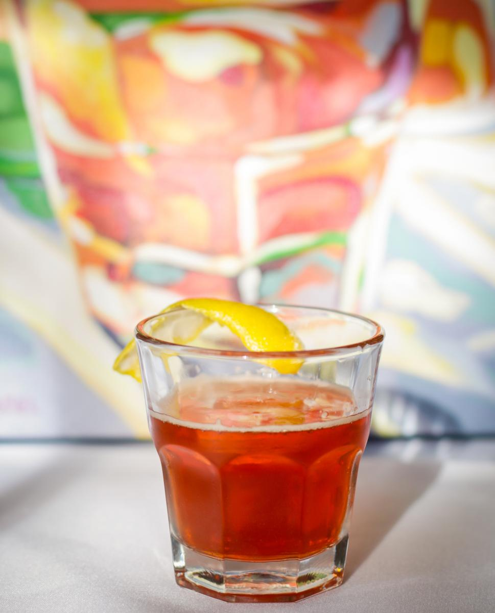 Upperline Reveillon Cocktail- Sazerac