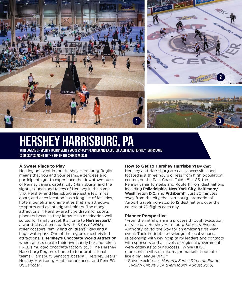 Sports Planning Guide: Hershey Harrisburg