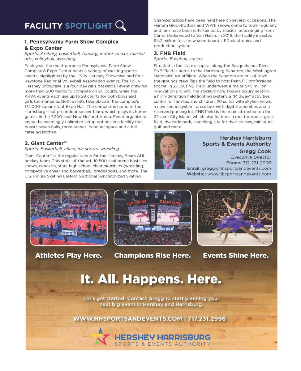 Sports Planning Guide: Hershey Harrisburg