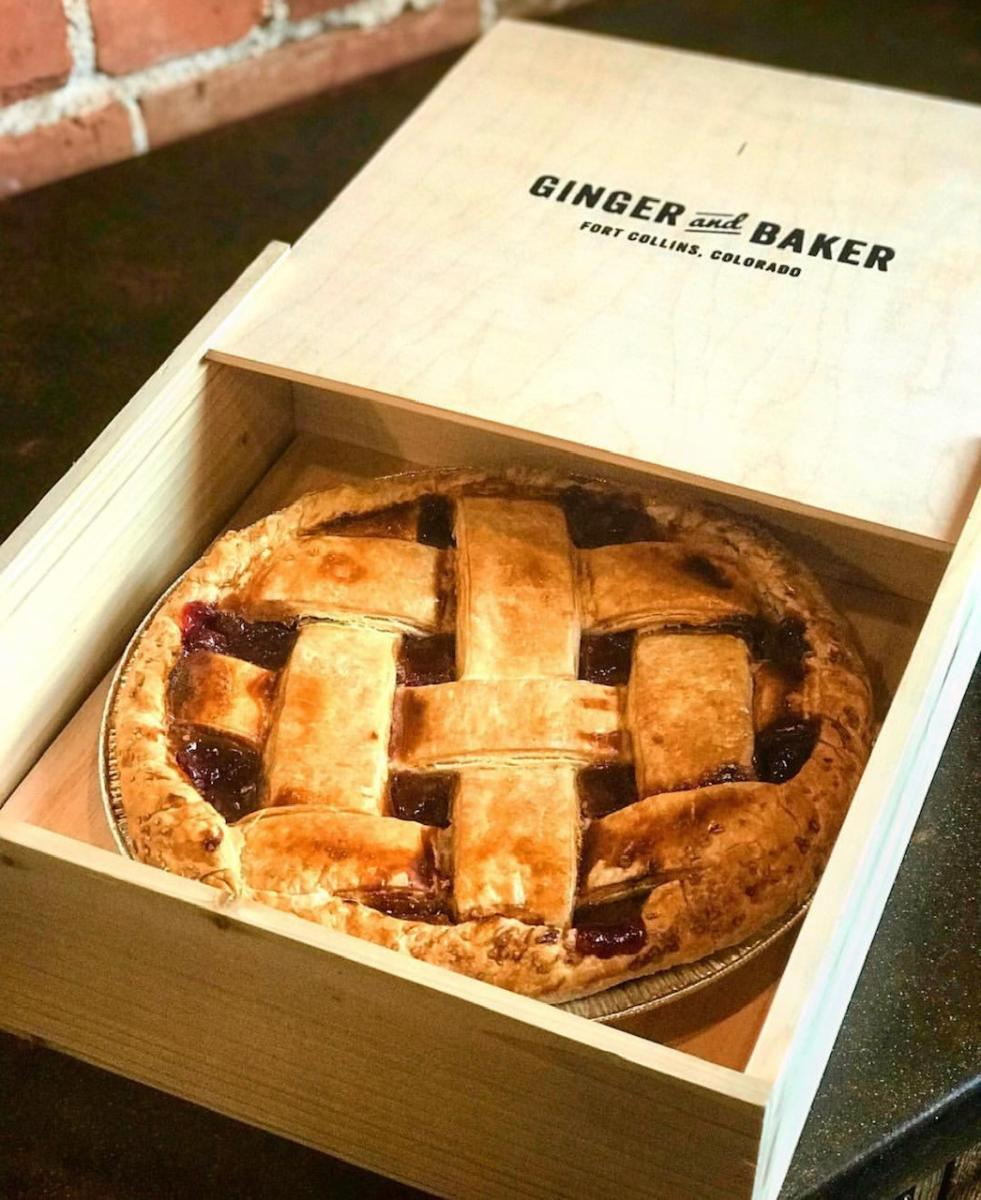 Ginger and Baker Single Pie