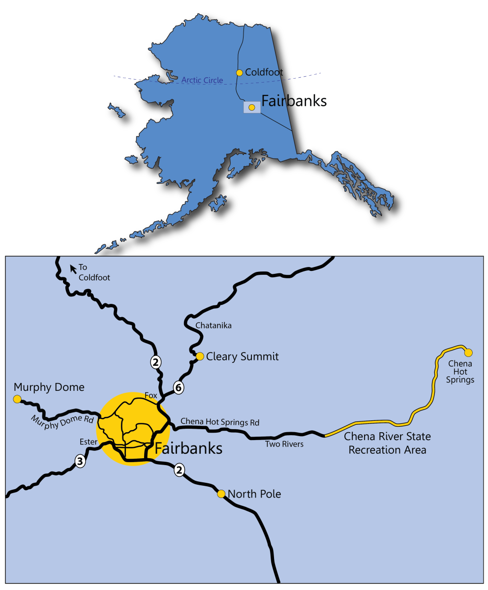 Where To Go Aurora Borealis Viewing Around Fairbanks Ak