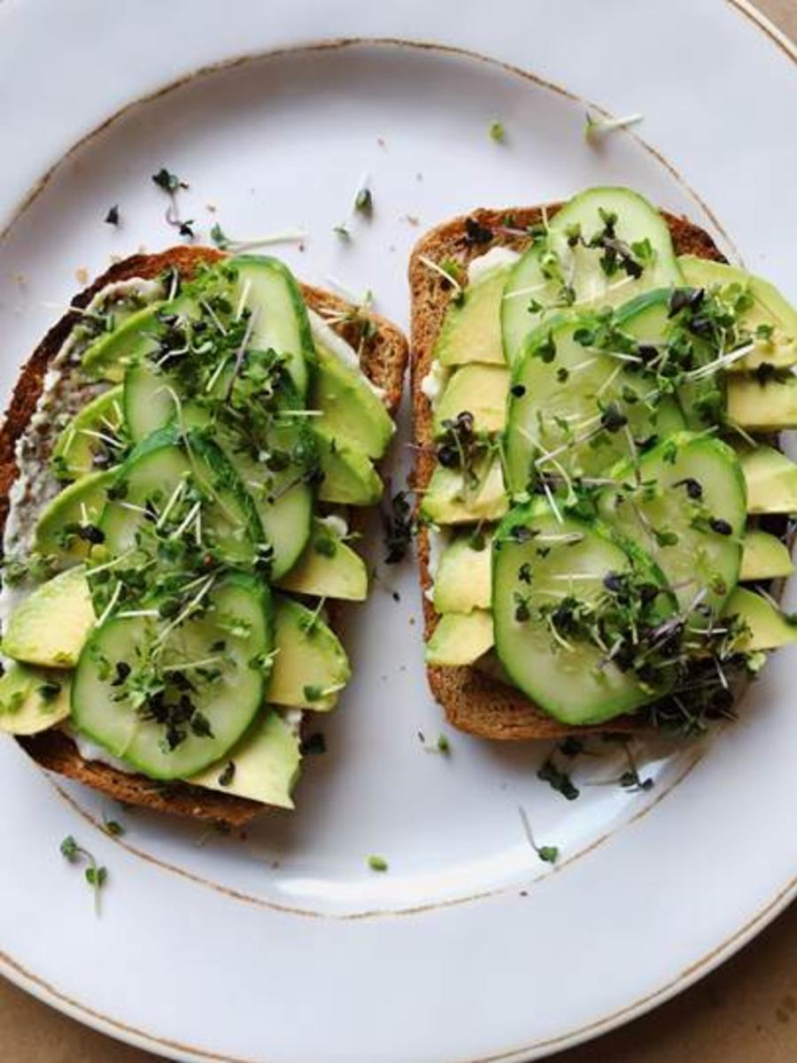 Avocado Toast at Mason Dixon Home