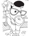 Coloring Page - Krewe of Barkus and Meoux