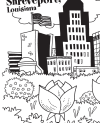 Coloring Page - Downtown Shreveport