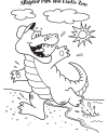 Coloring Page - Gators and Friends
