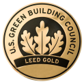 LEED Gold Plaque