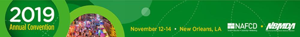 2019 NAFCD + NBMDA Annual Convention Logo