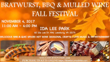 Bratwurst, BBQ & Mulled Wine Fall Festival