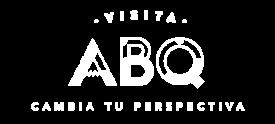 Visit ABQ Logo_Short_White