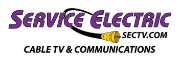 Service Electric Cable TV Logo