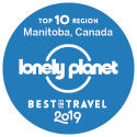 Top 10 Region: Manitoba, Canada. Lonely Planet 2019 Best in Travel.