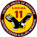 Local 11 Roofers logo