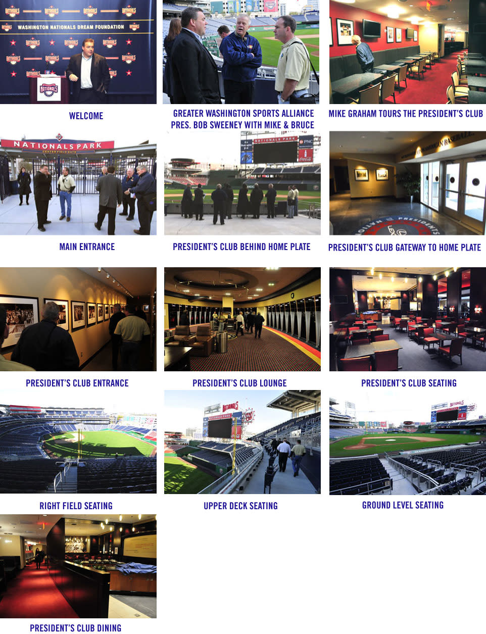 2015 World Police & Fire Games Site Inspection: Nationals Ballpark Image Gallery