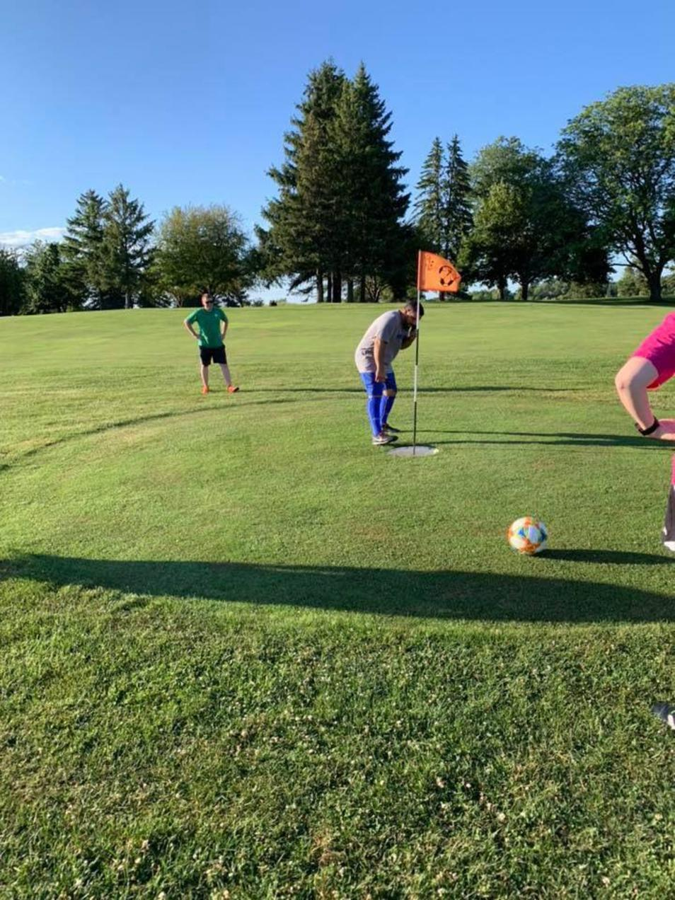 FootGolf at Royal Scot
