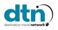 Logo for Destination Travel Network