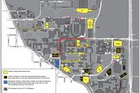 CU Football Game Day Parking Map