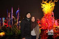 Mille Fiori exhibit - Chihuly Garden and Glass in Seattle