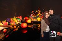 Ikebana and Float Boat exhibit - Chihuly Garden and Glass in Seattle