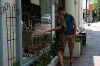 Couple Shopping in Middleburg