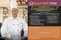 Clay Pot Fish recipe by Chef Frederick Ngo at Jimmy's Seafood & Steak, Margaritaville Resort Casino Bossier City