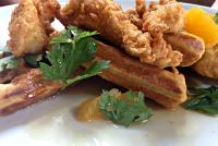 Chicken and Waffles Junk Ditch Brewing Company