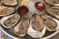 oyster platter at King Street Oyster bar