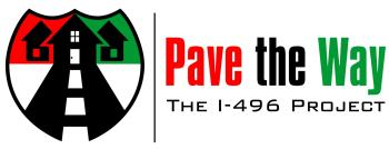 Pave the Way - The I-496 Project Logo