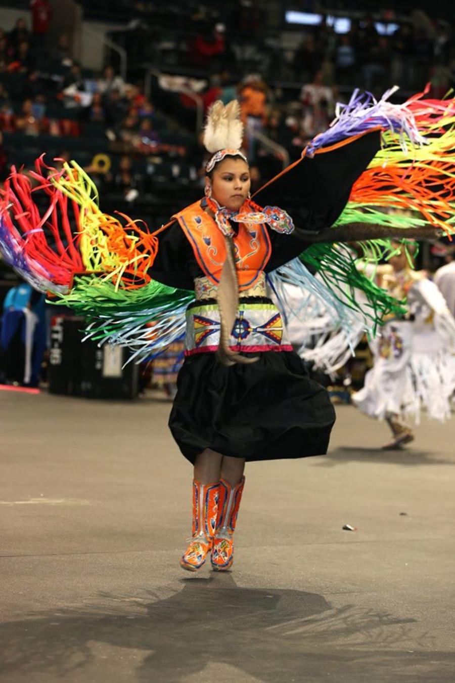 Fancy Shawl Dance Manito Ahbee