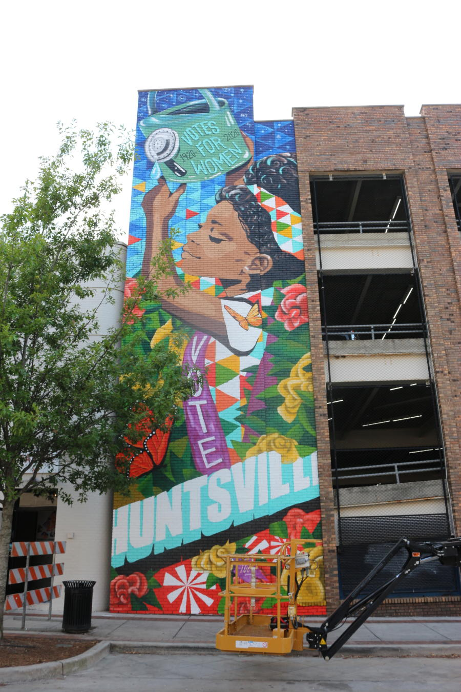 Huntsville 19th Amendment Mural