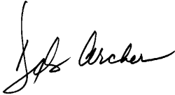 Deb Archer Signature
