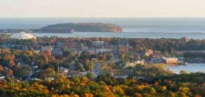 View from Mt Marquette