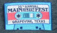 MSF Patch - Cassette