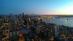 Up in Cloud 9 on top of the Space Needle Blog City View6