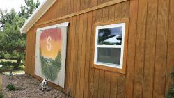 Shiloh Vineyard Barn Mural in WaKeeney, KS