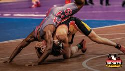 Shreveport-Bossier Sports Commission wrestling match