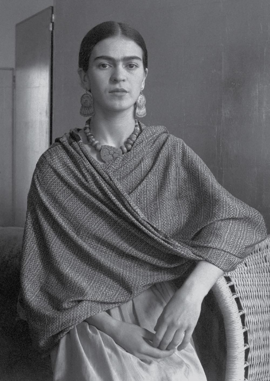 FWMoA - Frida Kahlo by Imogen Cunningham