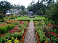 Fort Ticonderoga's King's Garden opened for the season on June 1 with a stunning display of annuals and perennials already in bloom!