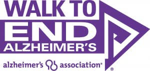 Walk to end Alzheimers Logo