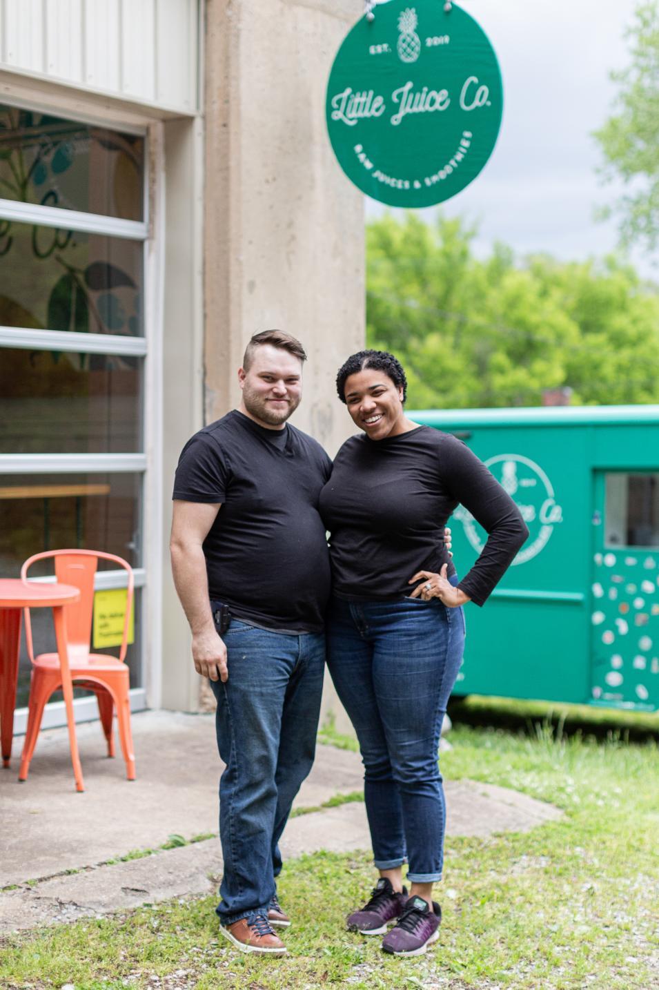 TJ & Rochelle Hutt - Little Juice Company