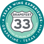 GrapeFest 33 Souvenir Pin Logo