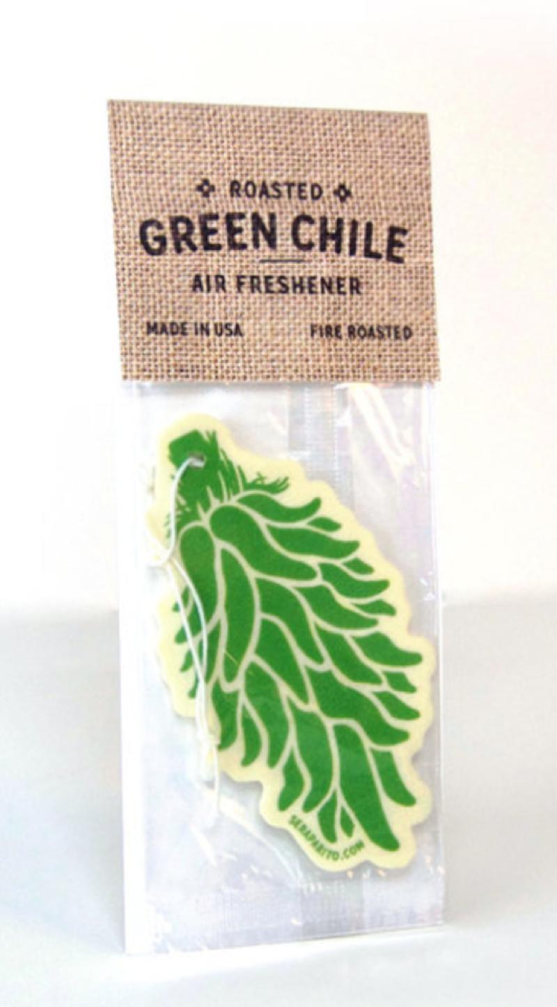 Green Chile Air Freshener by Seraparito