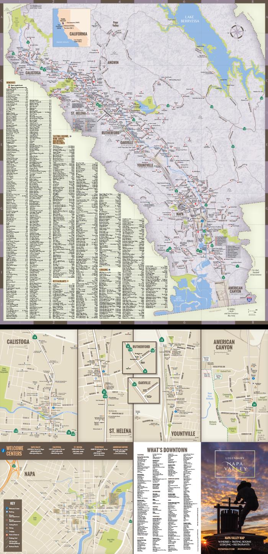 Napa Valley Regional Map 2019