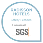 Radisson Hotels Safety Protocol logo