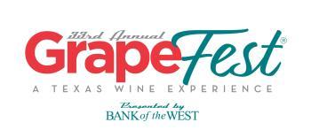 GrapeFest 33 Logo