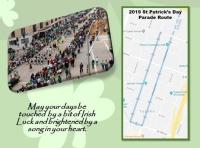 2019 St. Patrick's Day Parade Routh