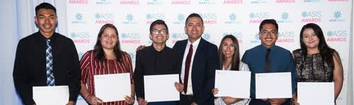 Tourism Foundation Scholarship recipients
