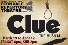 Ferndale Repertory Theatre - Clue the Musical