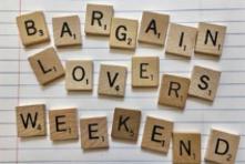 Bargain Lovers' Weekend